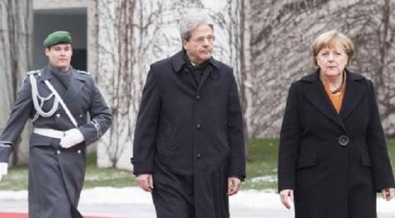 Europa: vertice Gentiloni - Merkel. Sul tavolo flessibilità e migranti