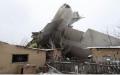 Bishkek (Kirghizistan): aereo turco precipita sulle case, 37 morti