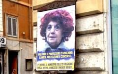 Roma: manifesti abusivi contro la ministra Fedeli sui muri della città. Il Pd la difende