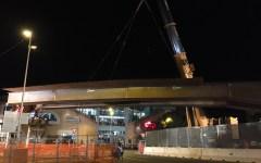 Firenze, tramvia: il montaggio dell'ultimo tratto del viadotto San Donato si farà il 14 e 15 gennaio