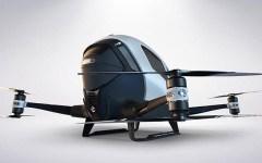 Trasporti: pronto Ehang 184 il nuovo drone-taxi. A luglio sarà presentato in Dubai (video)