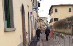 Firenze: nuovo look per via Faentina, vanno avanti i lavori per i marciapiedi