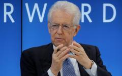 Economia: Monti, l'Italia rischia di rientrare nella procedura europea d'infrazione, grazie ai bonus di Renzi