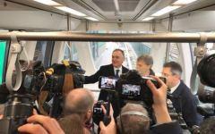 Pisamover: navetta veloce stazione ferroviaria-aeroporto Galilei inaugurata da Delrio