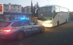 Siena: bus non regolare, gita scolastica ritardata. I controlli della polizia stradale