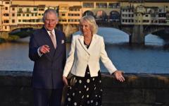Firenze: Carlo e Camilla fanno la spesa al Mercato di Sant'Ambrogio. E pagano tutto