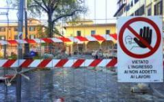 Firenze, tramvia: modifica del cantiere in viale Guidoni con restringimenti di carreggiata