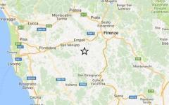 Terremoto: nuova scossa magnitudo 2.2 a castelfiorentino. Nessun danno