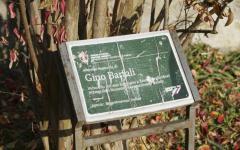 Firenze: danneggiata la targa dedicata a Gino Bartali nel giardino dei Giusti