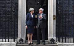 Brexit: Jean Claude Juncker, presidente Commissione Ue,  pessimista dopo la cena con Theresa May