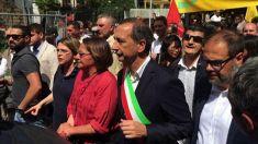 Milano, migranti: in 100.000 alla marcia antirazzista dietro Sala e Grasso