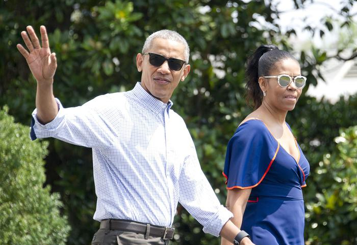 Obama a Grosseto, partono le vacanze in Toscana