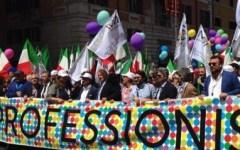 Economia: i professionisti scendono in piazza per rivendicare un equo compenso