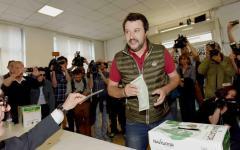 Lega Nord: Matteo Salvini stravince le primarie del partito con oltre l'80% dei voti
