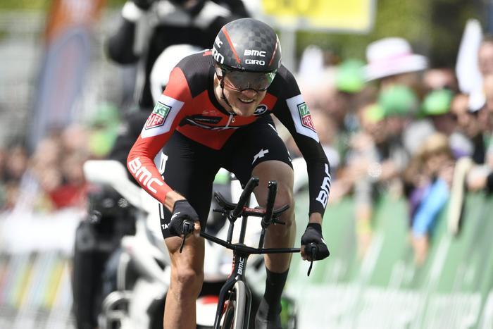 Giro de#39;Italia, Van Garderen vince sulle Dolomiti: Dumoulin in rosa