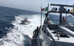 Cerboli (Li): gommone in avaria, due persone soccorse dalla Guardia di Finanza