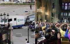 Parigi: uomo ferisce a martellate un poliziotto, 900 persone bloccate nella cattedrale di Notre Dame