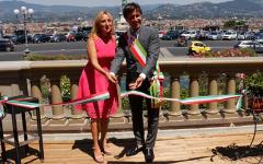 Firenze, Piazzale Michelangelo: balaustre restaurate (1 milione di euro) da Starhotels. Come le volle il Poggi