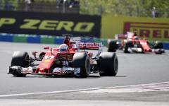 Budapest F1, GP Ungheria: doppietta Ferrari, primo Vettel, secondo Raikkonen