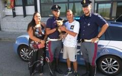 Firenze: cane salvato sull'A1 dalla Polizia stradale