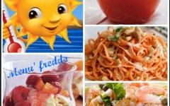 Ferragosto: un menù fresco sotto il solleone, quattro piatti accattivanti
