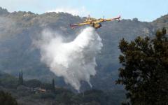 Grosseto: incendio a Monte Argentario minaccia le case. Spento dai vigili del fuoco
