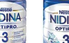 Latte per la crescita: ritirati alcuni lotti di Nidina Otipro 3