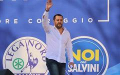 Salvini a Pontida: «Con noi al governo, mano libera alle forze dell'ordine»