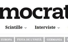 Partito democratico (Pd): in linea il nuovo sito d'informazione Democratica.com