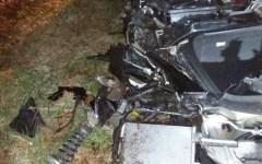 Livorno: ragazza di 21 anni muore nella Porsche contro un albero sull'Aurelia. Ferita la 19enne che guidava