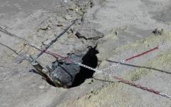 Pozzuoli: famiglia precipita nel fango bollente di una solfatara. Tre morti. Salvo solo bimbo di 7 anni