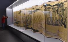 Uffizi: mostra sul rinascimento del Giappone, esposti 39 grandi paraventi di carta