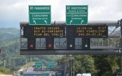 Autostrada: A1 Panoramica chiusa dalle 8 alle 18 di martedì 9 e mercoledì 10 gennaio