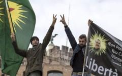 Erdogan a Roma dal Papa: scontri al sit-in di protesta. Un ferito