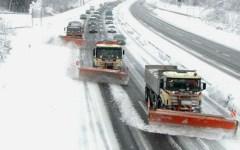 Maltempo:  Previste nevicate domenica 25 fra Parma e Firenze (A1) e Bologna e Pesaro (A14). Autostrade attiva il piano antineve