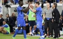 L'Italia riparte e batte una modesta Arabia Saudita (che va al Mondiale): 2-1. Gol di Balotelli e Belotti. Pagelle