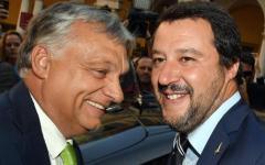 Migranti, Salvini e Orban: «Vicini a svolta storica in Europa». Protesta dei centri sociali
