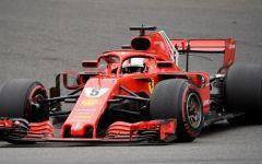 F1, Spa: Vettel e la Ferrari dominano il Gp del Belgio, Secondo Hamilton