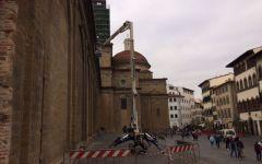 San Lorenzo, sicurezza: s'installano telecamere, mentre la Polizia vigila la piazza