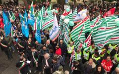 Larderello (PI): 2.000 persone in piazza a difesa della geotermia