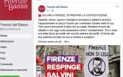 Firenze: antagonisti all'attacco di Salvini, il tam tam sui loro siti