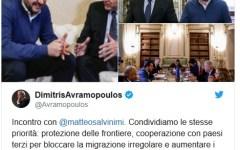 Migranti: da Avramopoulos, commissario ue, inaspettato assist al Governo