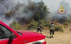 Lucca: incendio, in fumo 50 ettari di prato e pascolo