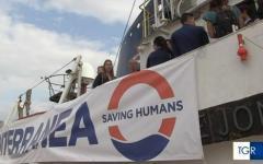 Marsala (Tp): salpata la nave di Mediterranea, a bordo non c'è De Falco