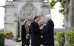 Mattarella a Notre Dame e al castello di Amboise insieme a Macron
