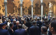 La consegna delle Onorificenze dell'ordine al merito della repubblica a Palazzo Medici Riccardi
