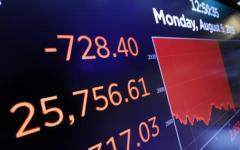 Borsa: Wall Street chiude in forte calo. Colpa delle tensioni Usa-Cina