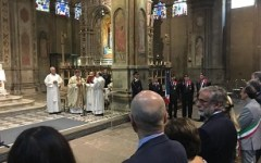 Firenze: Polizia festeggia 70 anni proclamazione suo patrono San Michele Arcangelo