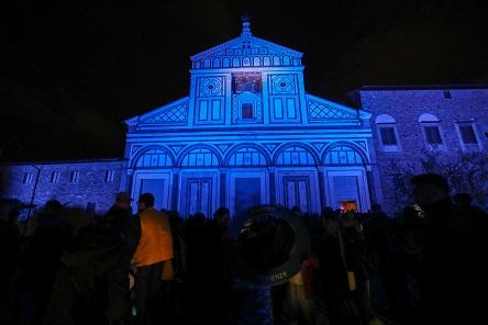 San Miniato illuminato di blu, giornata mondiale del diabete - Firenze Post