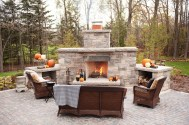 Types of outdoor fireplaces